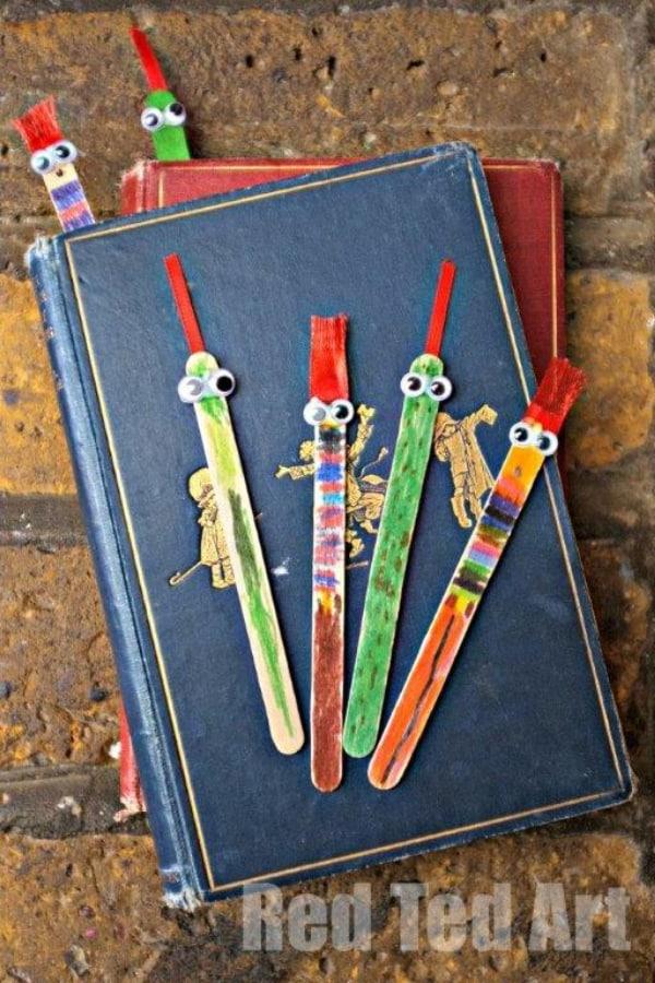 Craft Sticks Bookmark Gift
