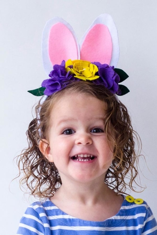 DIY FELT EASTER BUNNY HEADBAND