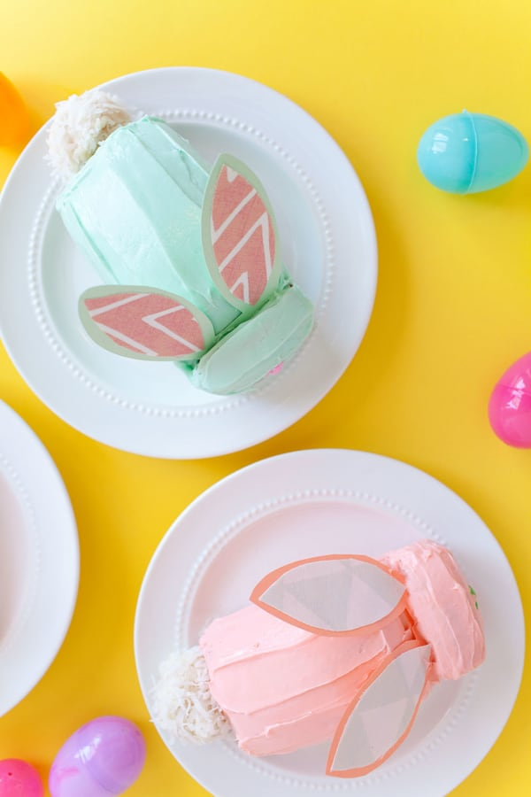 DIY MINI BUNNY CAKES