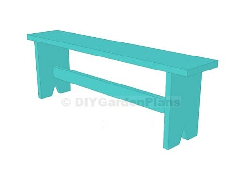 DIY Project Board Bench