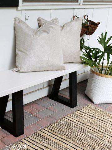 Homemade Garden Bench Plans