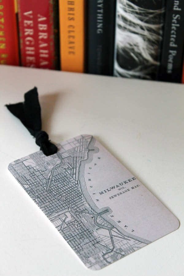 Map bookmark