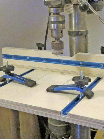 DIY Shop-made Drill Press Table
