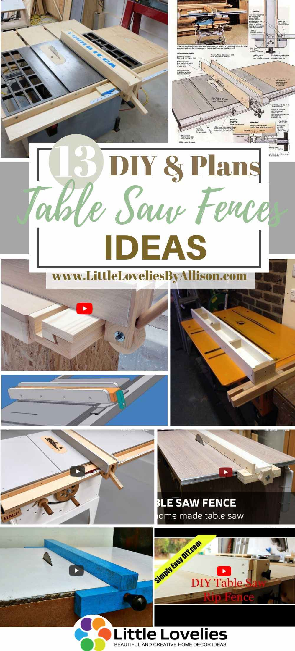 DIY TabACle Saw Fences