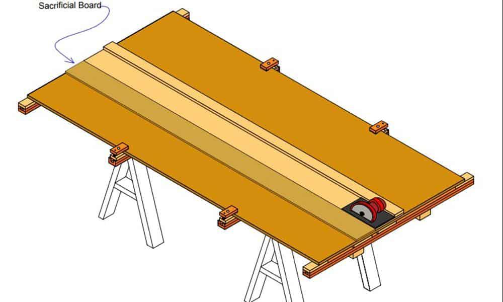 Horizontal Panel Saw plus Workbench Top