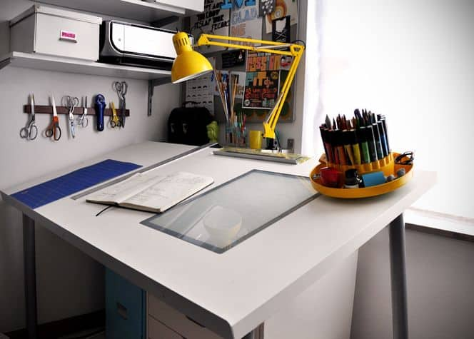 diy adjustable drafting table