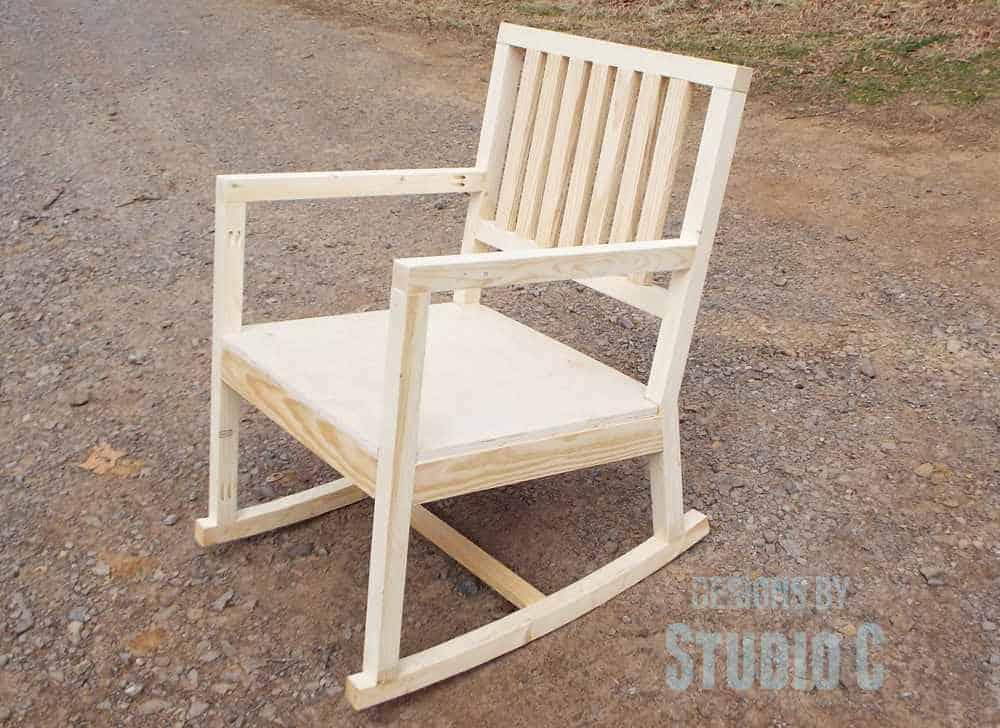 DIY Homemade Rocking Chair
