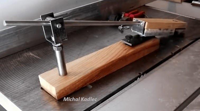 diy knife sharpening jig
