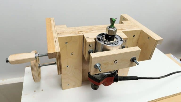 DIY Precision Router Lift