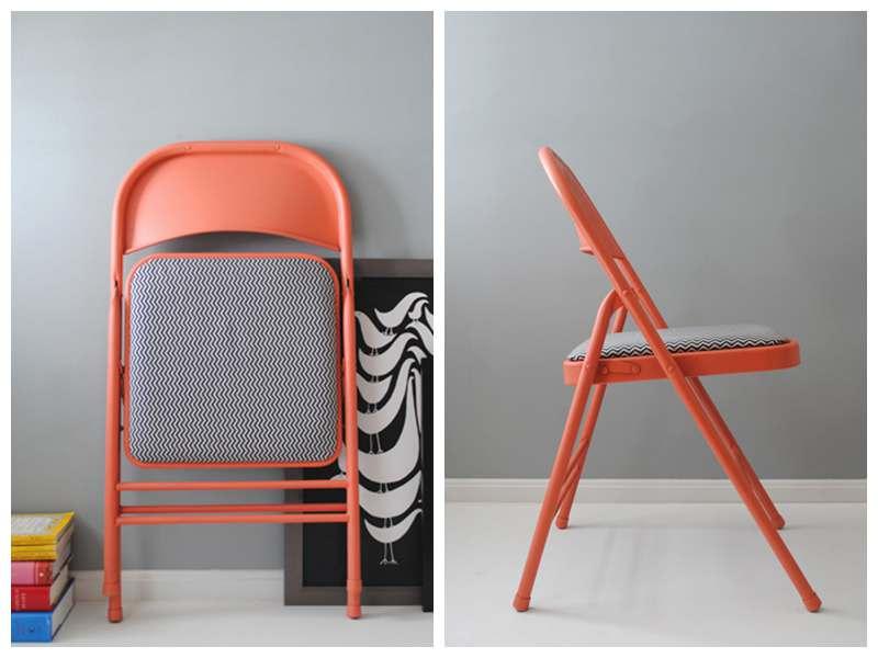 DIY Recycled Folding Chair