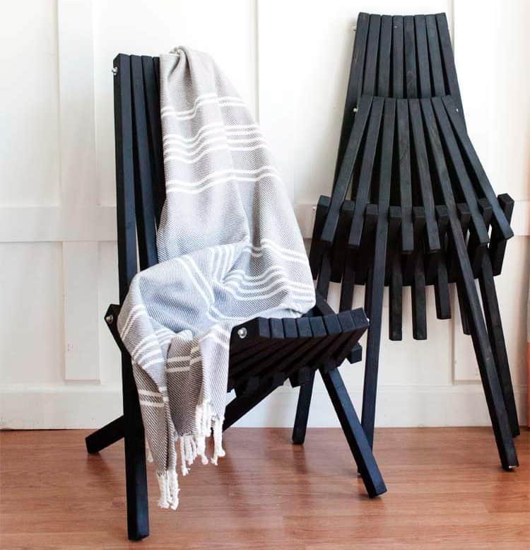 diy stick chair