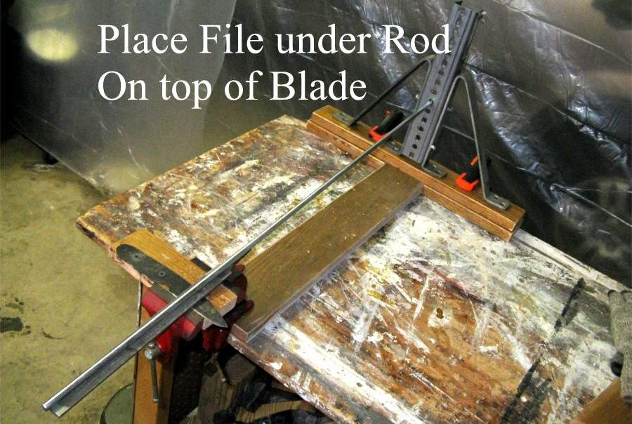 Handmade Knife Sharpening Jig