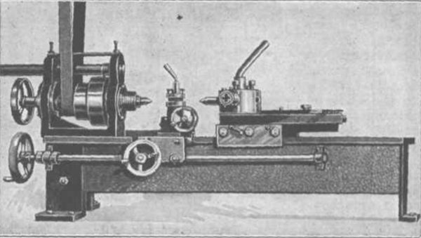 Home-Built Metal Turret Lathe