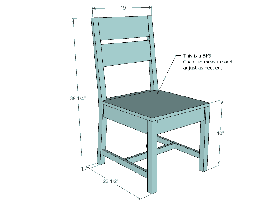 Simple-to-Make DIY Chair