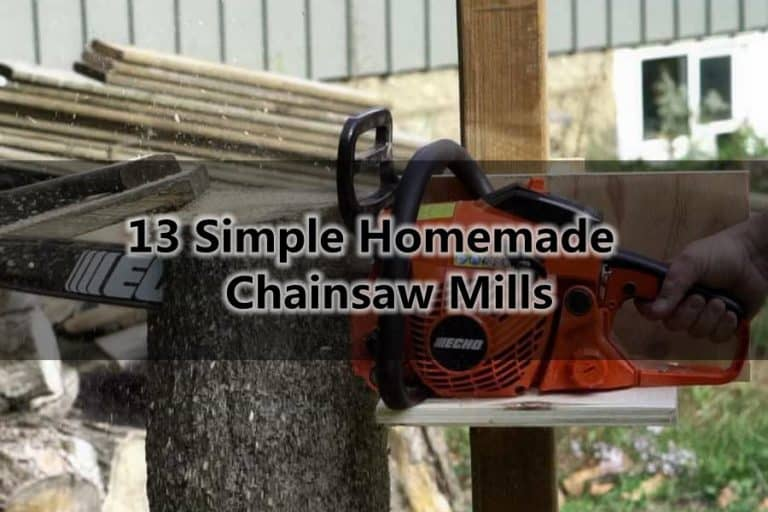13 Simple Homemade Chainsaw Mills