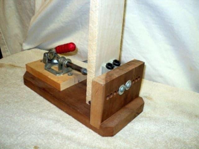 4-Stepped DIY Pocket Hole Jig