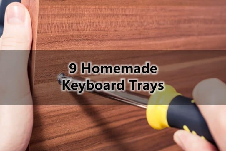 9 Homemade Keyboard Trays