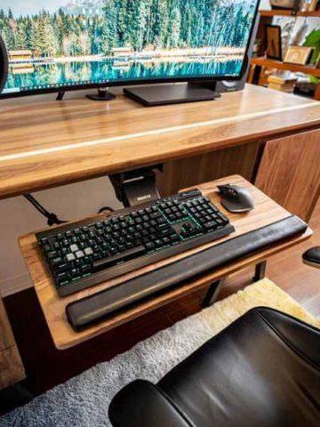 Homemade Keyboard Trays