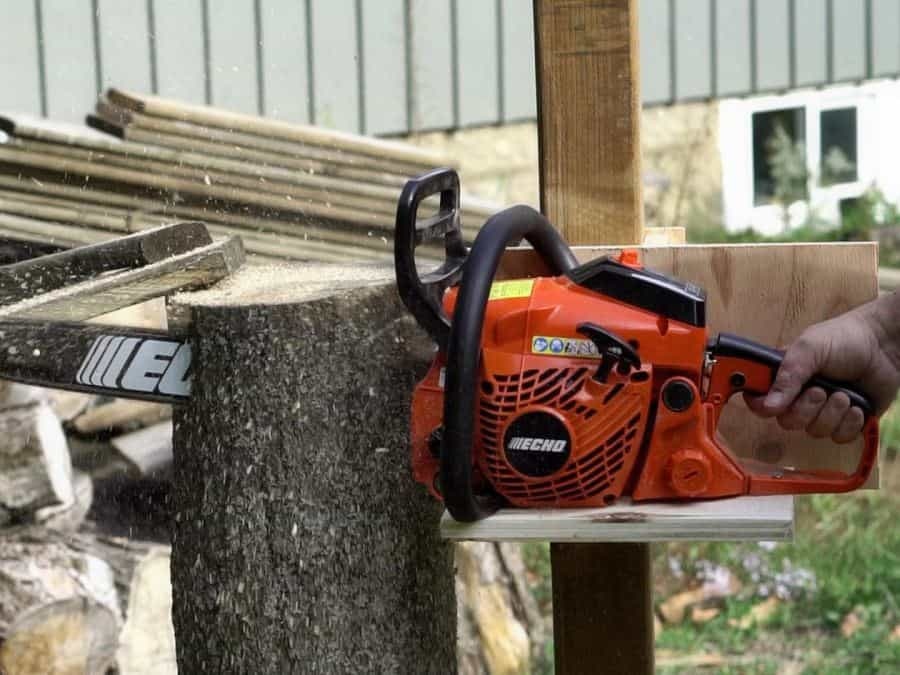 Homemade Vertical Chainsaw Mill