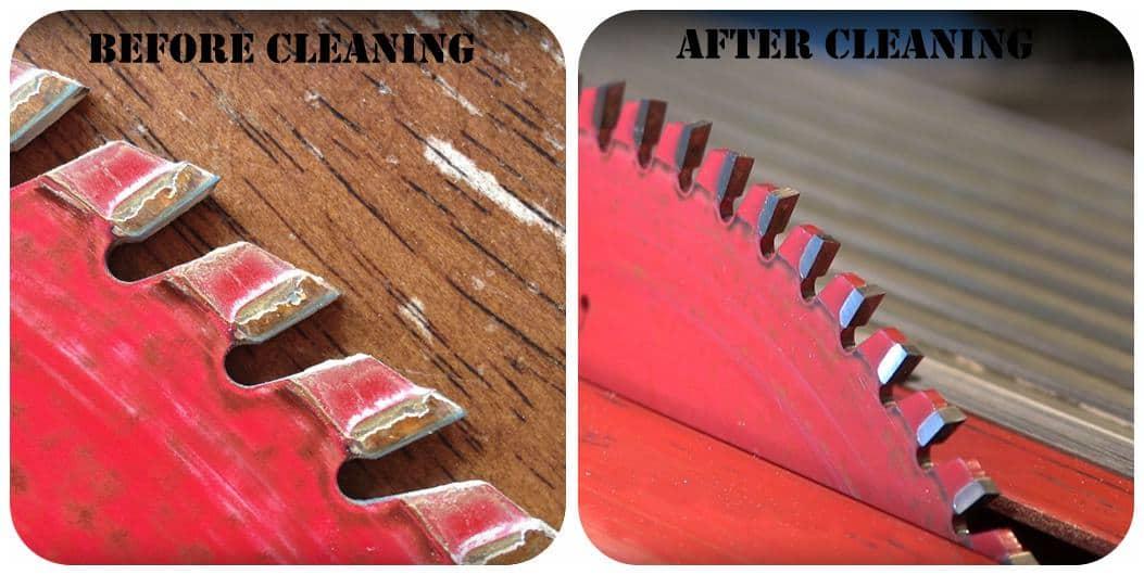 Clean a Table Saw Blade