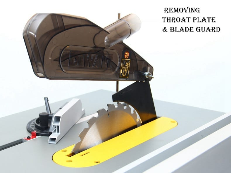 How to Change a Table Saw Blade01