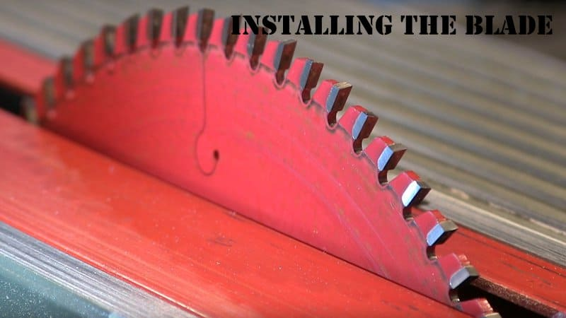 How to Clean a Table Saw Blade05