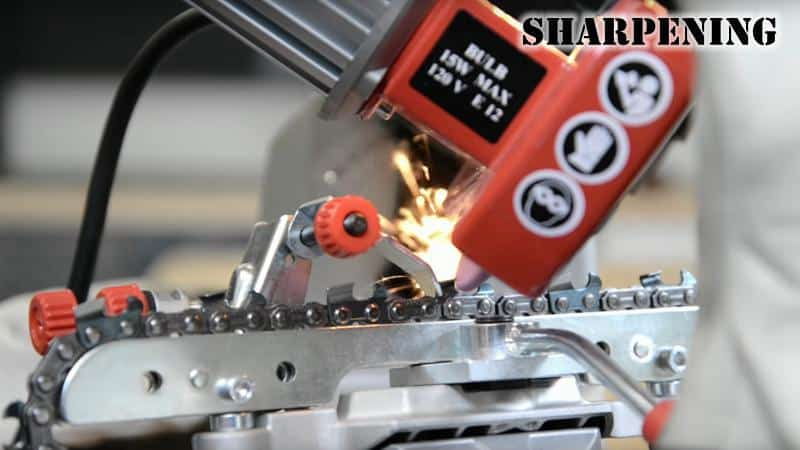 How to Sharpen a Chain Saw Blade06