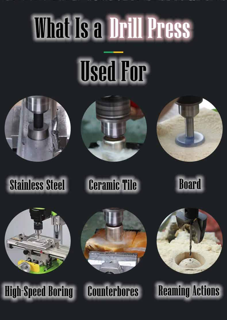 What Is a Drill Press Used For