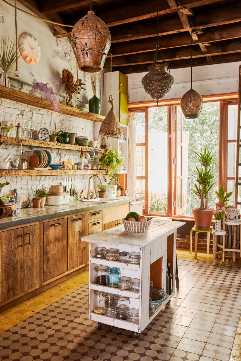 2.Create a cozy place to cook
