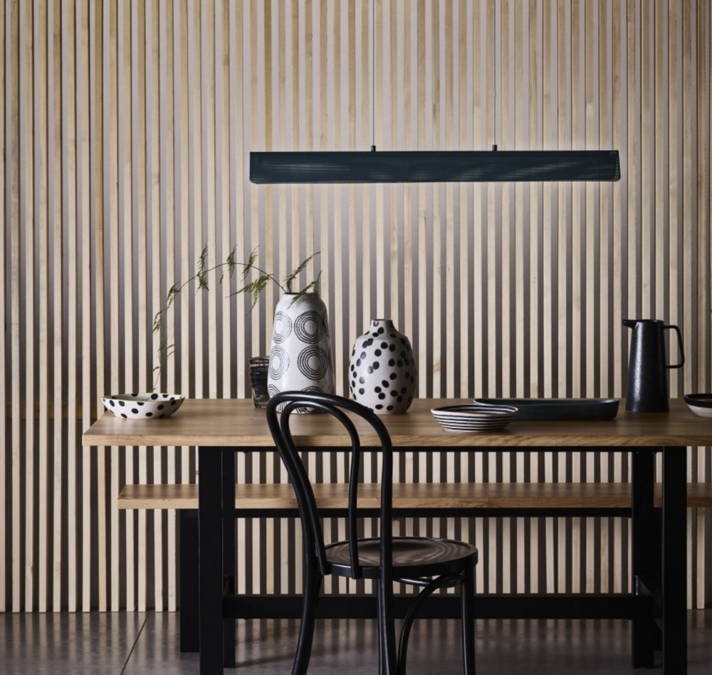 1.THE COOL URBAN KITCHEN ISLAND LIGHTING FOR ATMOSPHERIC DINING