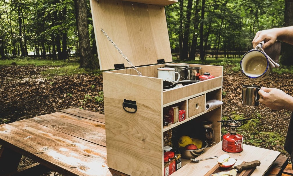 11. DIY Lightweight Camp Kitchen