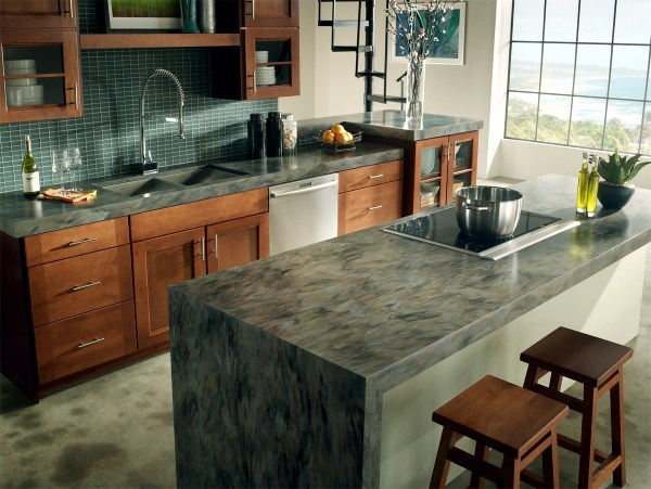 12. Marble Countertop Design For Kitchen