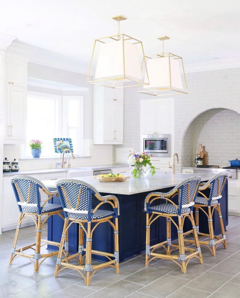13. MAJESTIC BLUE KITCHEN ISLAND