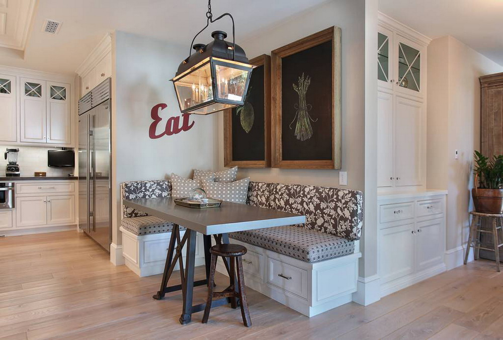 17. THE EAT-IN KITCHEN WITH CUSTOM MADE-IN SMALL DINING