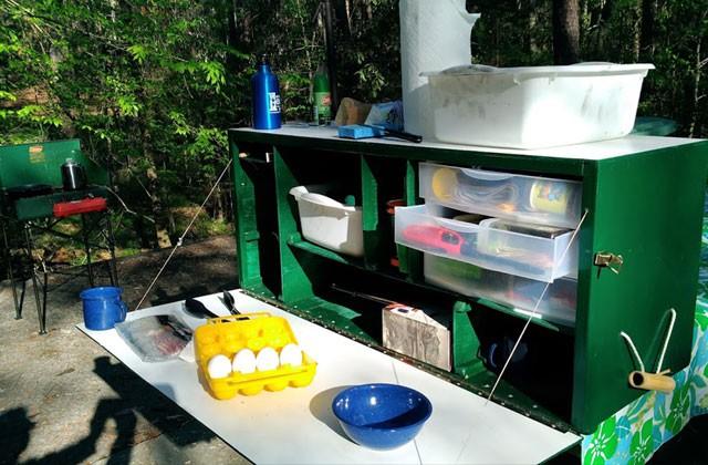 18. DIY Camping Chuck Box