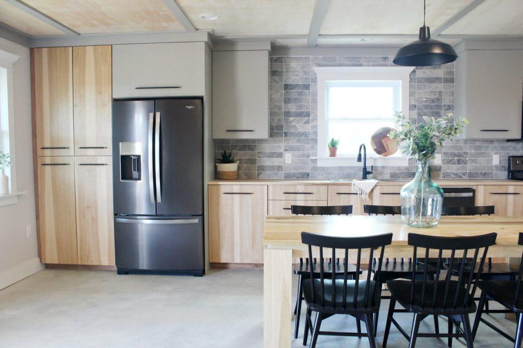 19. DIY Plywood Kitchen Cabinet