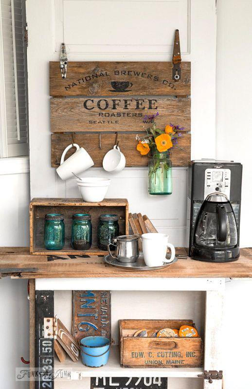 26. COFFEE BAR ON THE WALL