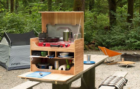 3. DIY Camp Kitchen Chuck Box