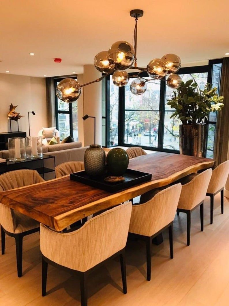 30. Reclaimed Dining Table