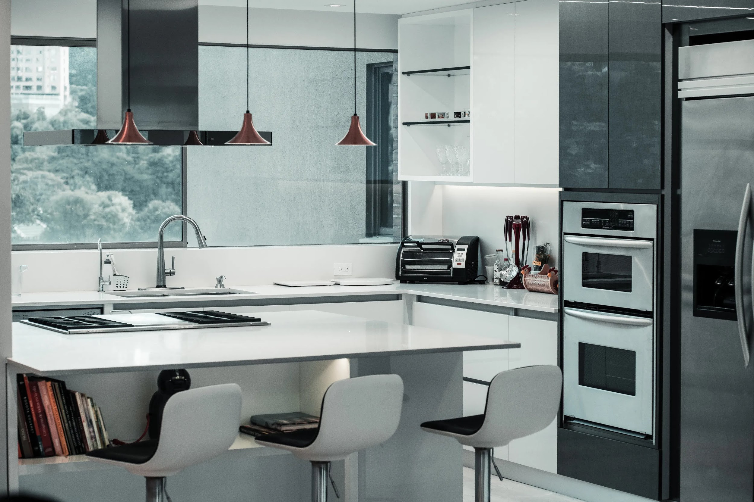 31. Modern House Kitchen Design With Simplicity