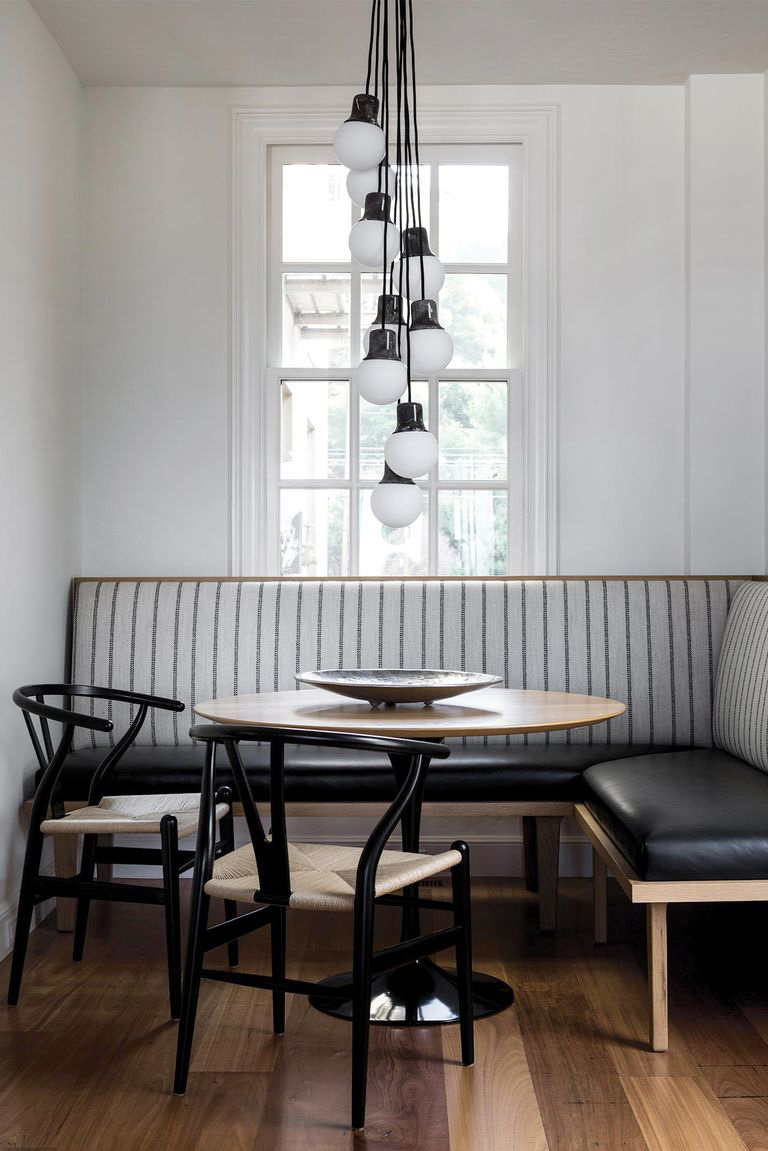 33.Grayscale Kitchen Nook