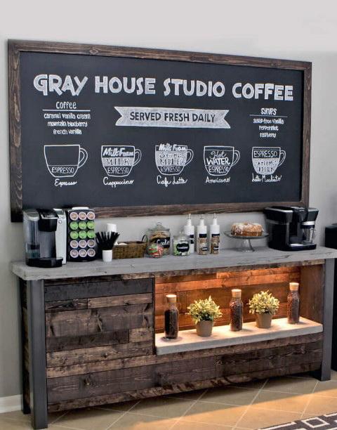 33.IN-HOME STUDIO COFFEE BAR