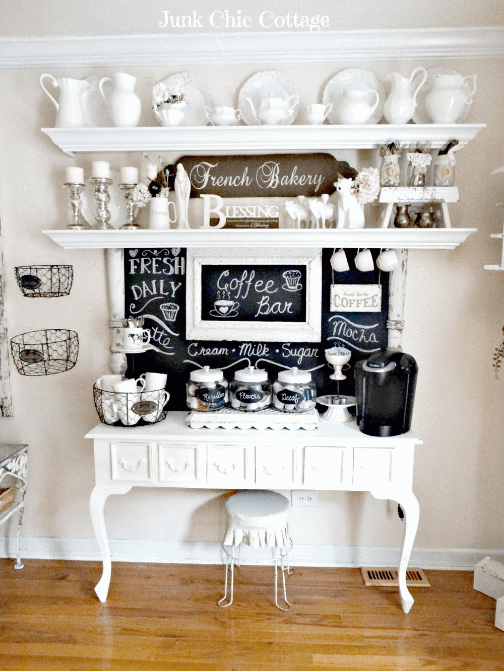 5.A BRIDE COFFEE BAR AT YOUR HOME