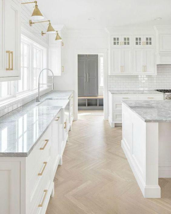 7.Tranquil Kitchen Design Idea