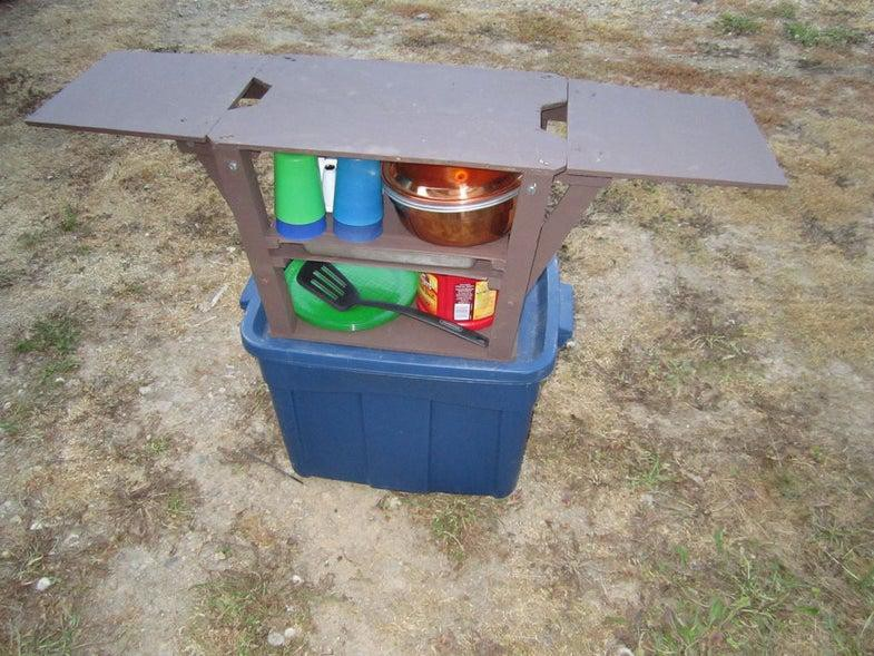 8. Low Budget Camp Kitchen