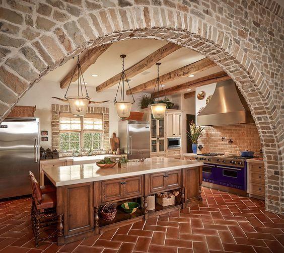 8.Cave Tuscan Kitchen Design