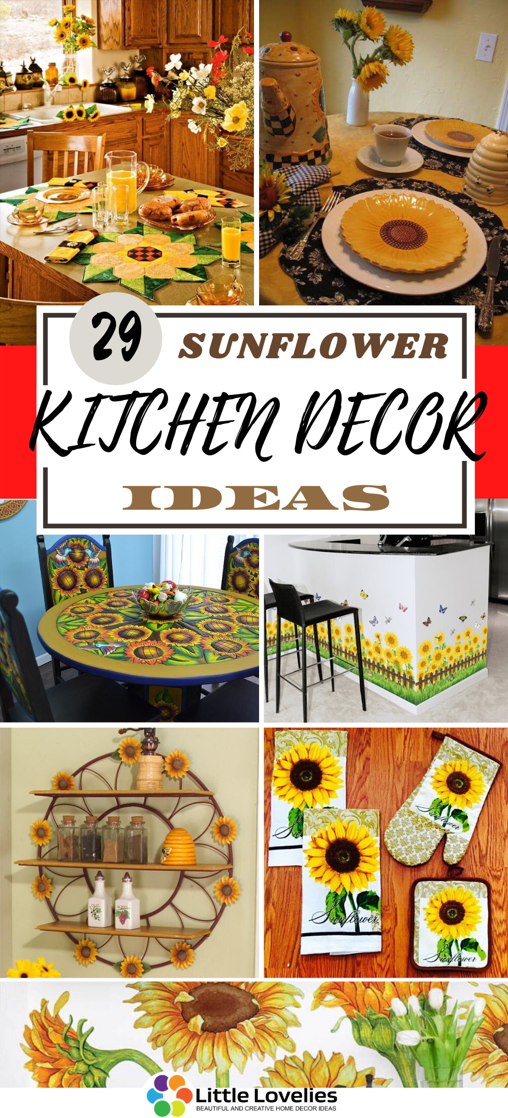 BEST SUNFLOWER KITCHEN DECOR IDEAS