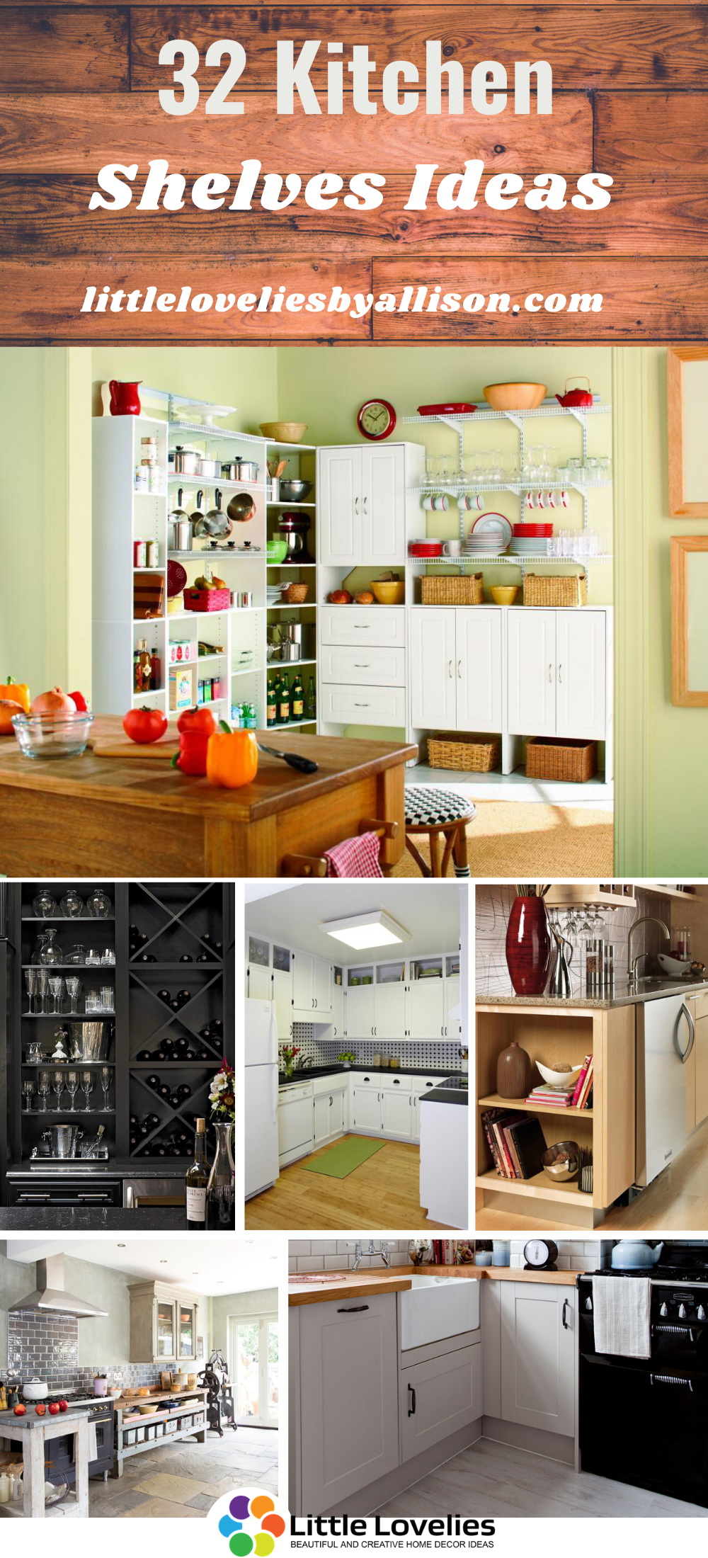 Best Kitchen Shelves Ideas