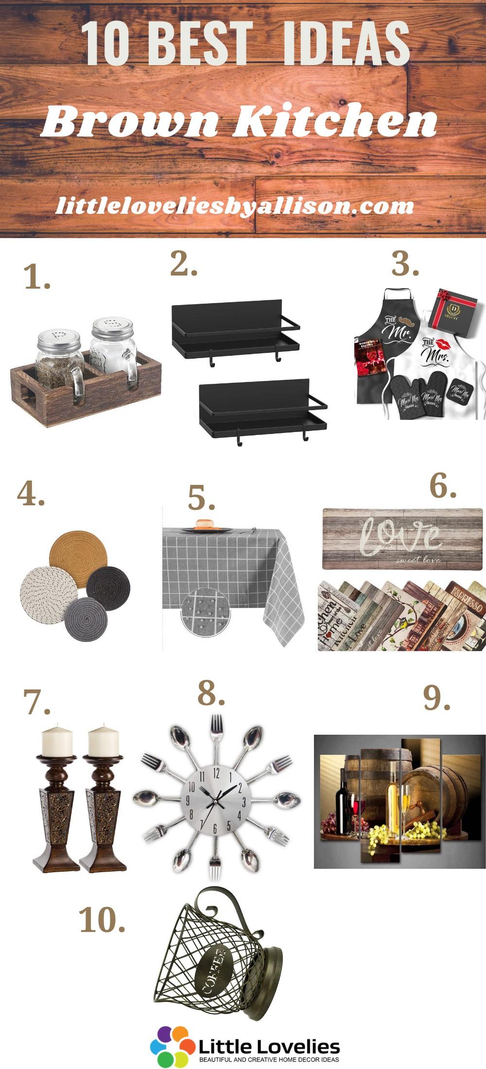 Best brown kitchen ideas