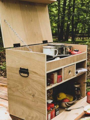 DIY Camp Kitchen Ideas